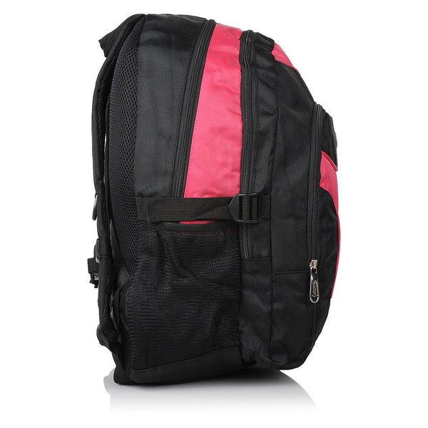 Suntop A14 24 L Backpack(Black and Pink)