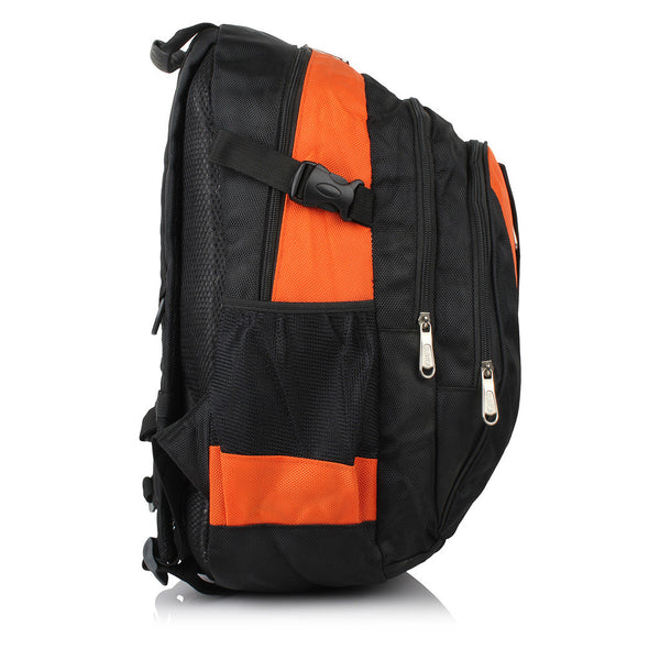 Suntop A20 25 L Backpack(Black and Orange)