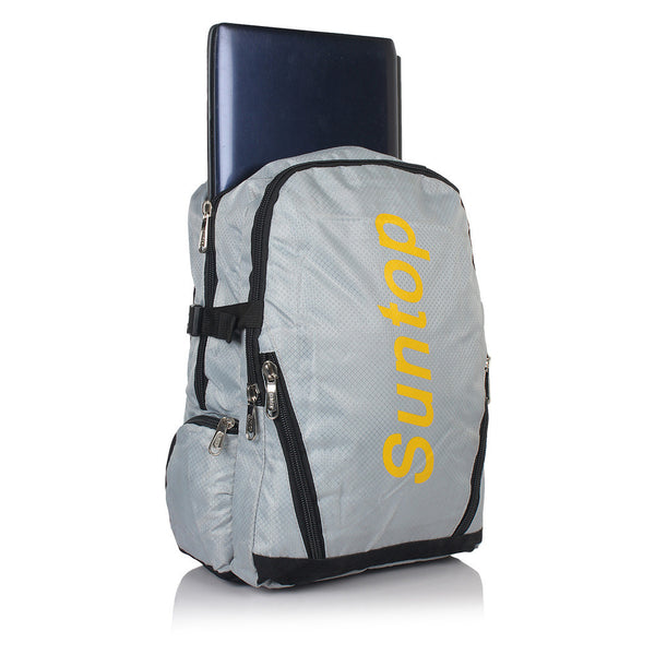 Suntop A22 21 L Backpack(Grey and Black)
