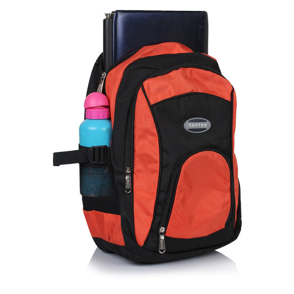 Suntop A30 23 L Backpack(Black and Orange)