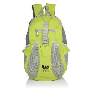 Suntop A94 19 L Backpack(Parrot Green and Grey)