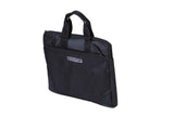Suntop Grid 4 Ltrs Black Laptop Hand Tote Bag