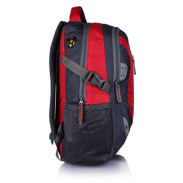 Suntop Neo 9 26 L Medium Backpack(Grey and Red Checks)