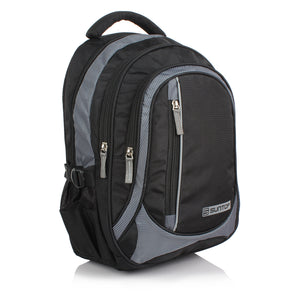 Suntop Neo 5 26 Ltrs Medium Black & Grey Checks Laptop Backpack