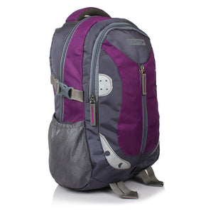 Suntop Neo 9 26 L Medium Backpack(Grey and Purple)