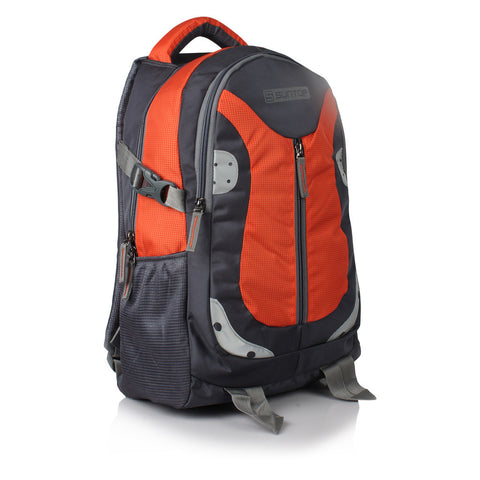 Suntop Neo 9 26 L Medium Backpack(Grey and Orange Checks)
