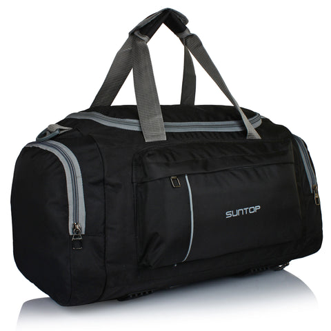 Suntop Alive 20 inch/50 cm Travel Duffel Bag(Jet Black)