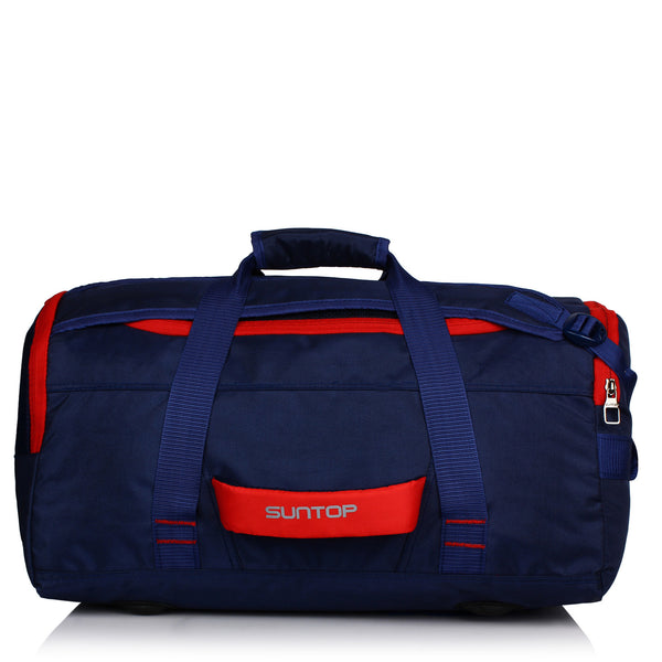 Suntop Sports/Gym Backpack with Shoe Pocket (Navy)