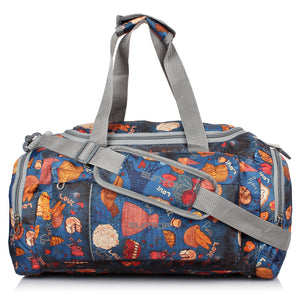 "Suntop Alive Nylon, Polyester 40 L, 20"" Gym, Travel Duffel Bag (Printed)"