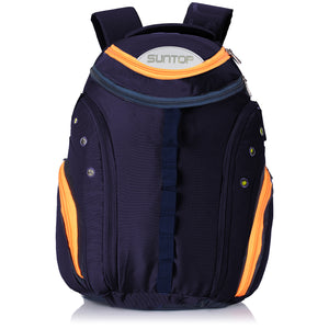 Suntop Voltaire USB 32 Litres Blue Laptop Backpack