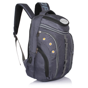 Suntop Voltaire USB 32 Litres Grey Laptop Backpack