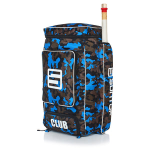 Suntop Player Edition Cricket Backpack Bag | 6 Bat Pockets | External Leg Guard (Pads) Pockets