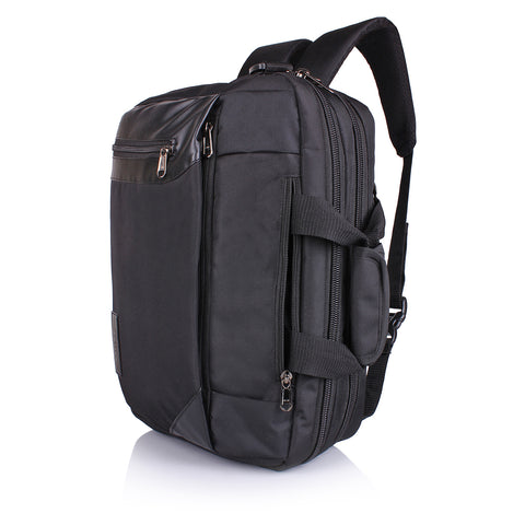 Suntop Dexter 3 Way Shoulder/ Hand Bag 16L Laptop Backpack(Black)
