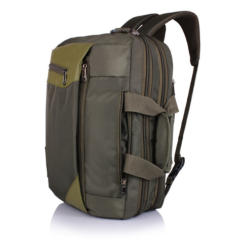Suntop Dexter 3 Way Shoulder/Hand Bag 16 L Laptop Backpack (Green)