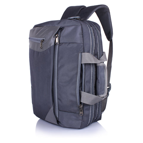 Suntop Dexter 3 Way Shoulder/Hand Bag 16 L Laptop Backpackξ(Grey)