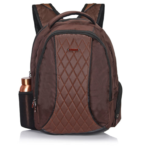 Suntop Ferrero Faux Leather Laptop Backpack
