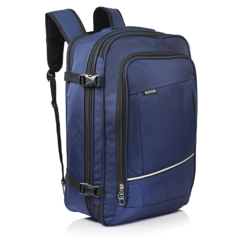 Suntop Voyager  Convertible 3 Way 42 liters Weekender Travel Carry Backpack (Blue)