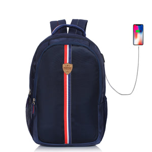 Suntop Superstar 25 Ltrs Laptop Backpack (Oxford Blue)