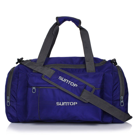 Suntop Alive 20 inch/50 cm Travel Duffel Bag(Blue and Grey)