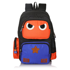 Suntop Omastar (with Insulated Lunch Pocket) 25 Litres School Backpack (Orange)