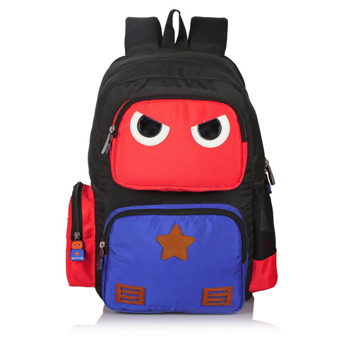 Suntop Omastar (with Insulated Lunch Pocket) 25 Litres School Backpack (Red)
