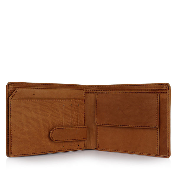 Suntop Piero Genuine Leather Wallet(Brown)