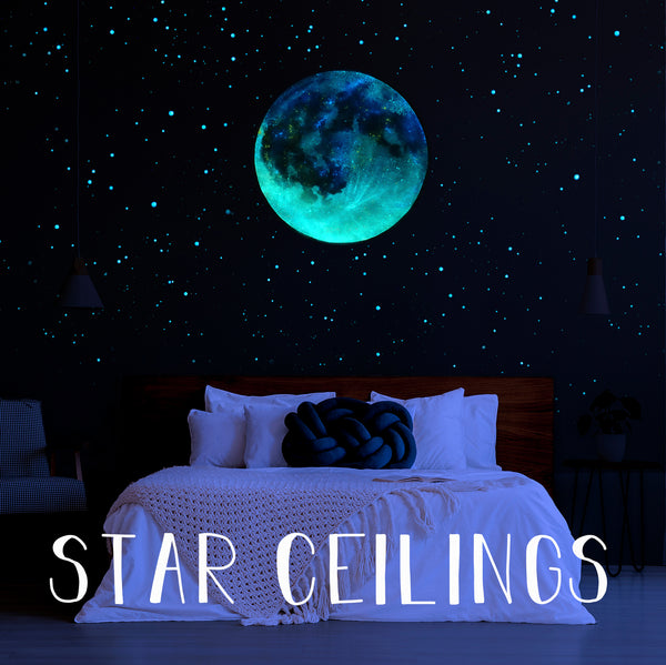 Glow in the Dark Star Ceilings