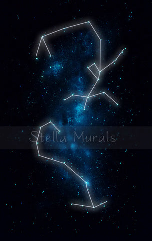 scorpius glow in the dark art