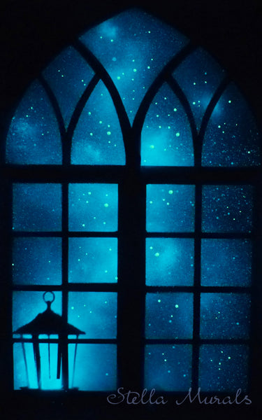 glow in the dark window