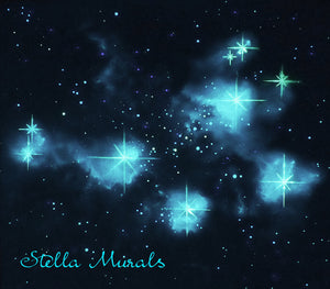 glow in the dark pleiades stella murals