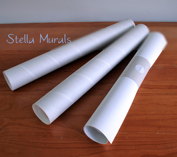 stella murals shipping tubes and mural