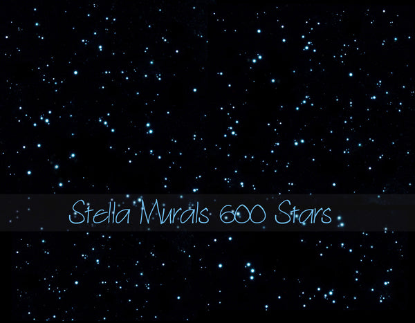 realistic glow in the dark star stickers
