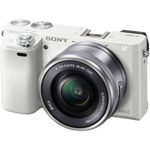 Sony A6000 Kit (16-50mm & 55-210mm) White
