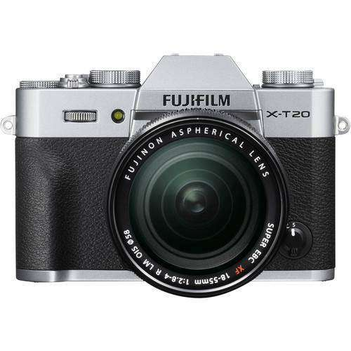 Fujifilm X-T20 Kit with 18-55mm Silver