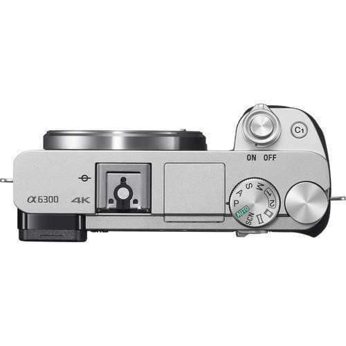 Sony A6300 Silver (Body Only)