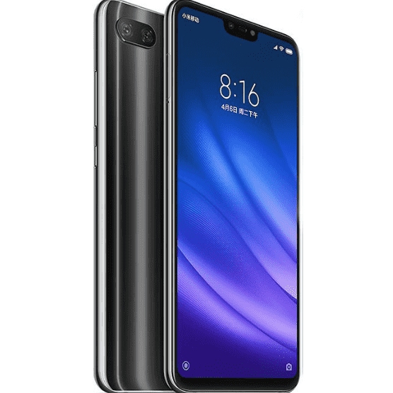 Xiaomi MI 8 Lite (64GB/4GB, Black, English Box)