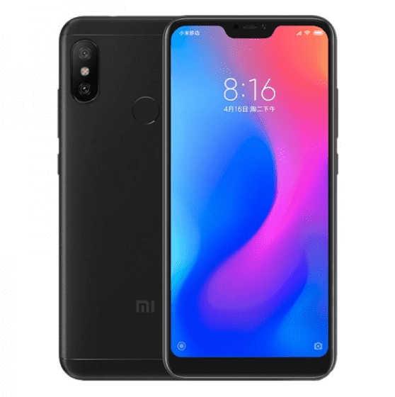 Xiaomi Mi A2 Lite (English Box, 64GB/4GB, Black)