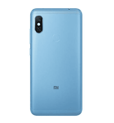 Xiaomi Redmi Note 6 Pro (32GB/3GB, Blue, English Box)