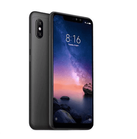 Xiaomi Redmi Note 6 Pro (64GB/4GB, Black, English Box)