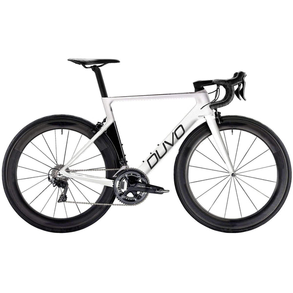 Carbon Corsa Rosso Products Bike DUVO AR-8 50 / White DUVO AR-8 duvolab