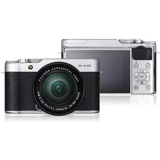 FUJIFILM Mirrorless Camera Fujifilm X-A10 Kit with 16-50mm Brown duvolab