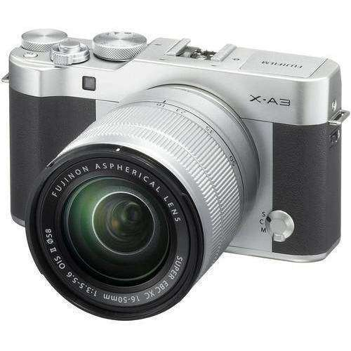 FUJIFILM Mirrorless Camera Fujifilm X-A3 Kit with 16-50mm Silver duvolab