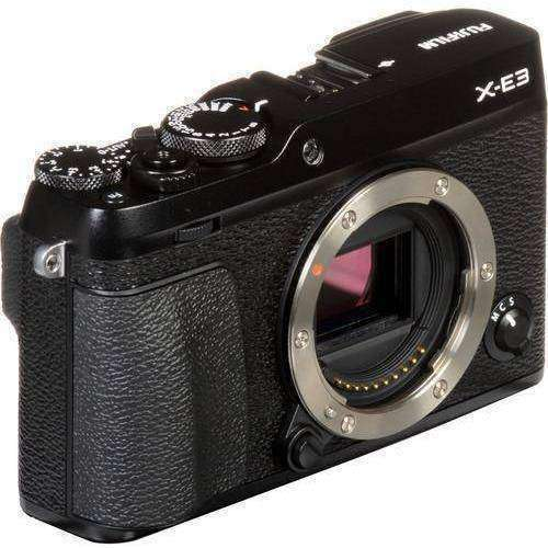 FUJIFILM Mirrorless Camera Fujifilm X-E3 Body Black duvolab