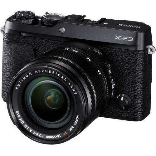 FUJIFILM Mirrorless Camera Fujifilm X-E3 Kit (18-55mm) Black duvolab
