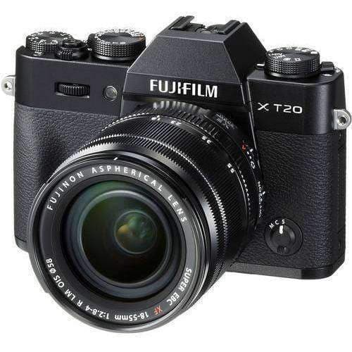 FUJIFILM Mirrorless Camera Fujifilm X-T2 Kit with 18-55mm Black duvolab