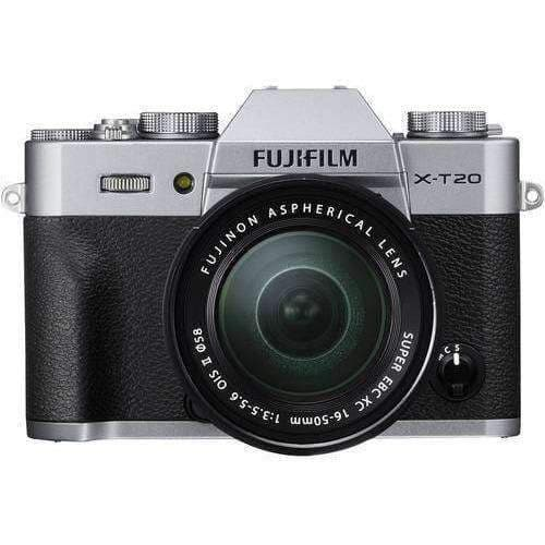 Fujifilm X-T20 Kit with 16-50mm Silver