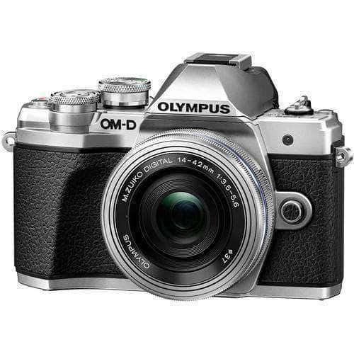 Olympus OM-D E-M10 Mark III Kit (12-40mm F/2.8 Pro Lens) Silver