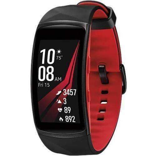 DUVO LAB Samsung Gear Fit 2 Pro Fitness Band (Large, Red) duvolab