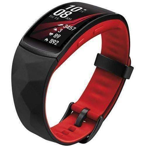 Samsung Gear Fit 2 Pro Fitness Band (Large, Red)