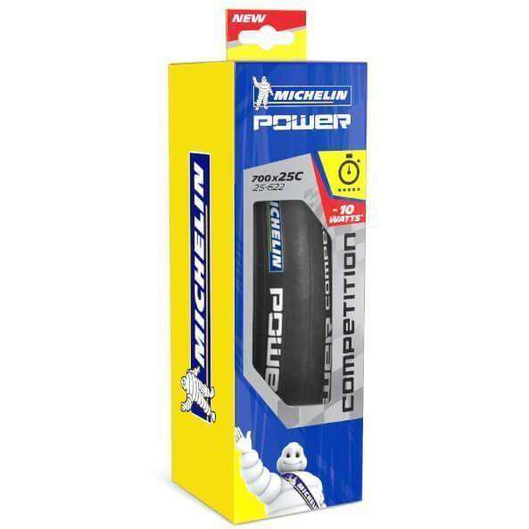 Michelin tyre 700C x 25mm - Black Michelin Power Competition Clincher Tyre duvolab